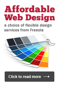 Affordable web design