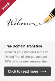 Free Domain Transfers