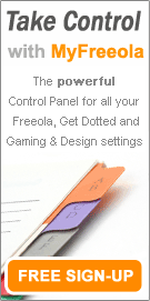Get a Free MyFreeola Account - The Powerful Control Panel!